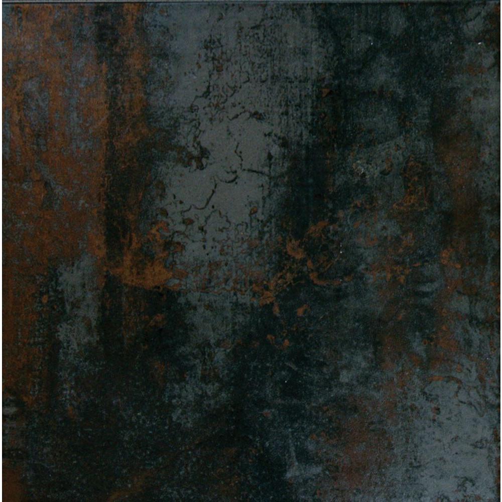 Antares Saturn Coal 20 in. x 20 in. Glazed Porcelain Floor
