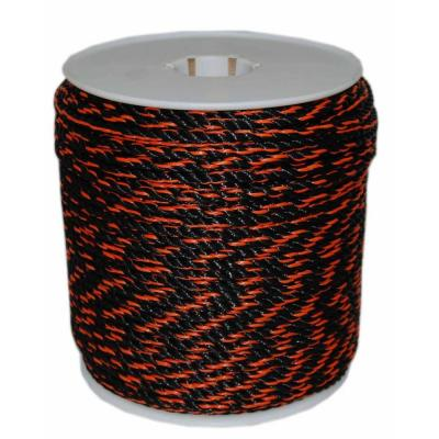 3/8 in. x 600 ft. California Truck Rope in Black and Orange