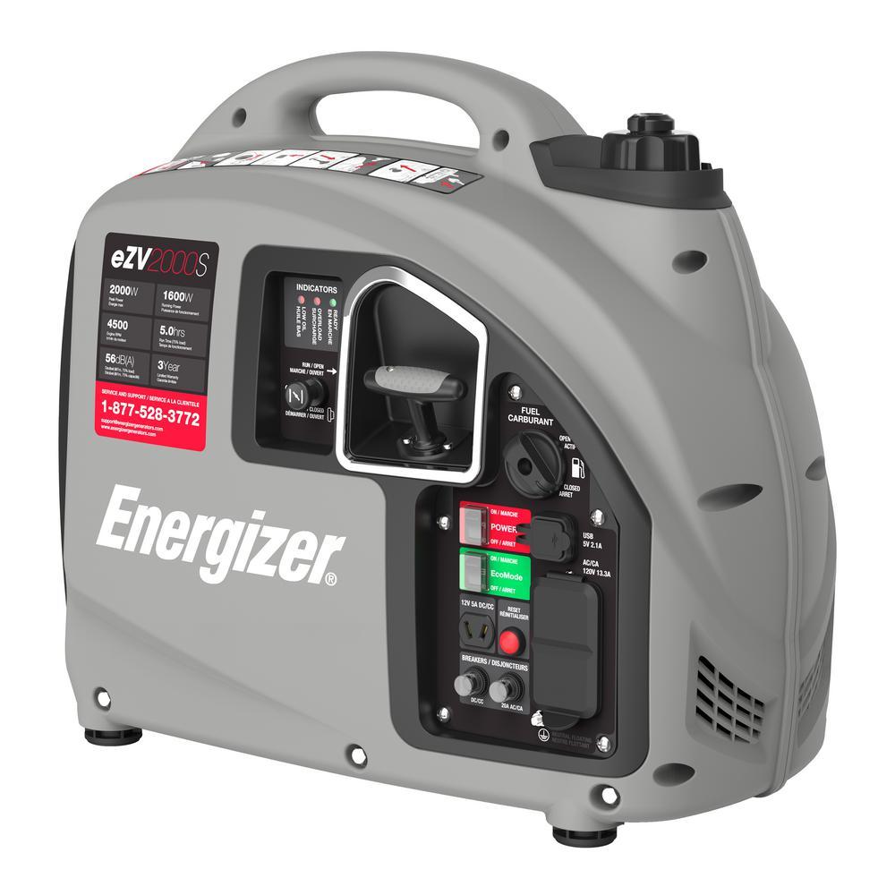 2,000-Watt Gas Powered Portable Inverter Generator
