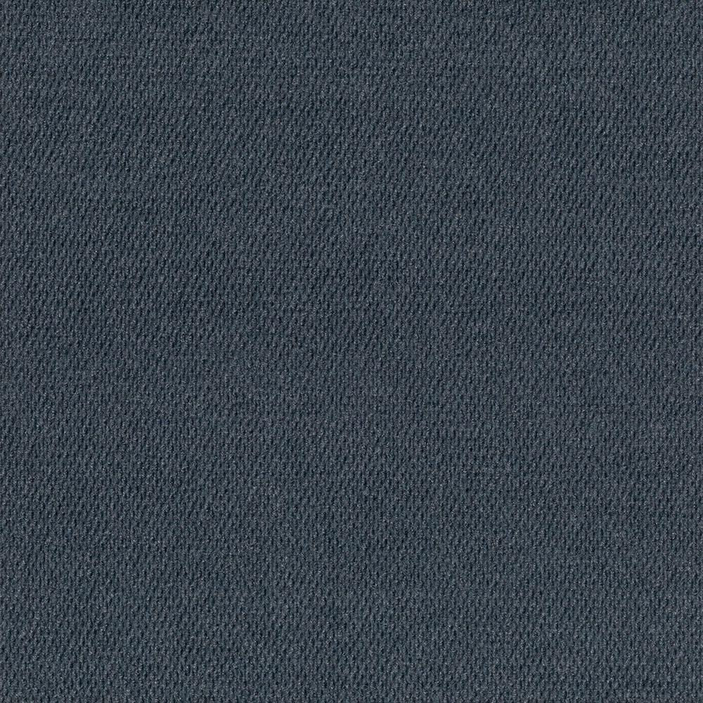 First Impressions Denim Hobnail Texture 24 in. x 24 in. Carpet Tile (15 Tiles/Case)