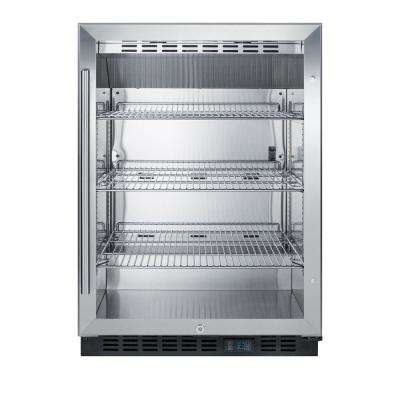 24 in. 5 cu. ft. Commercial Refrigerator with Glass Door