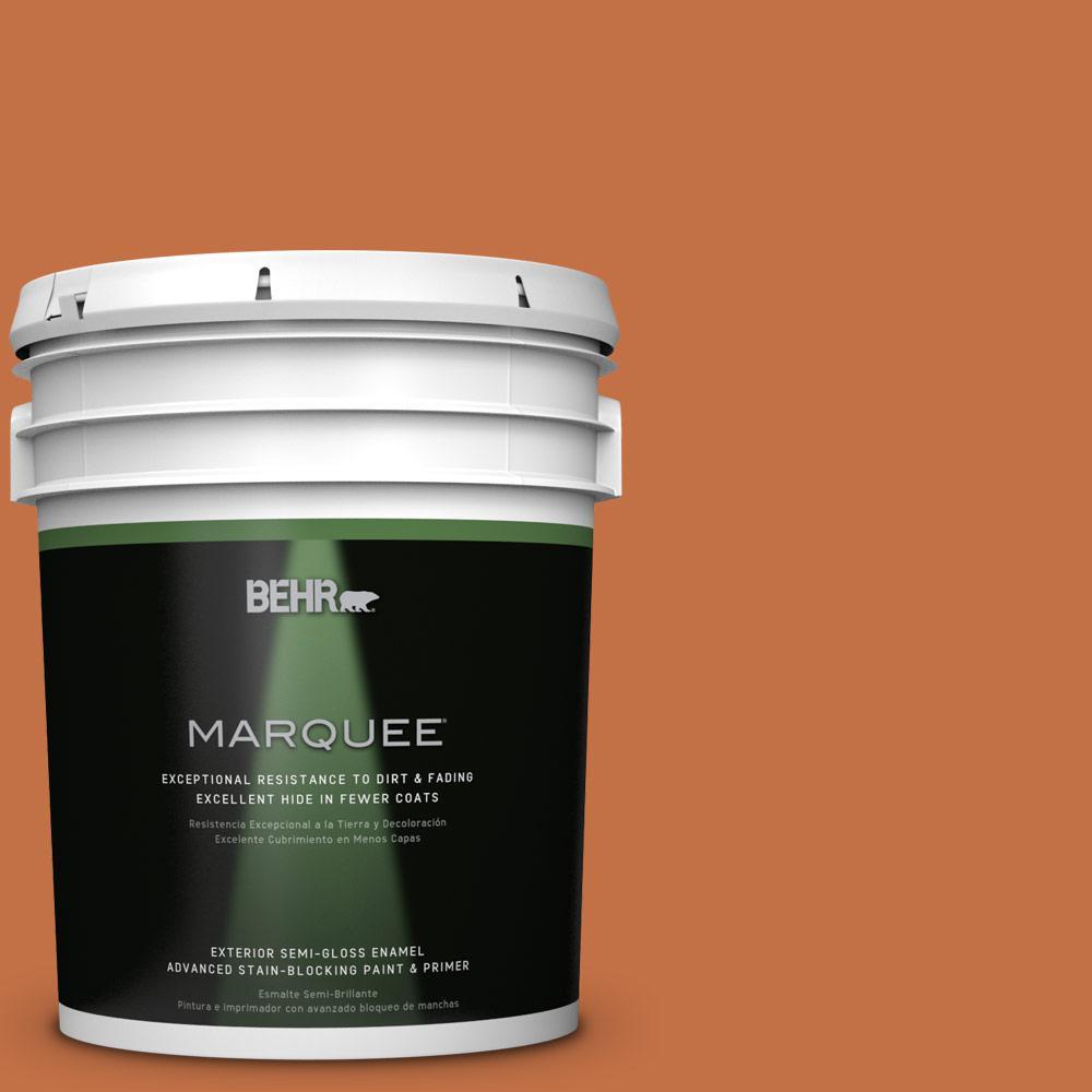 5-gal. #M220-7 Jack O Lantern Semi-Gloss Enamel Exterior Paint