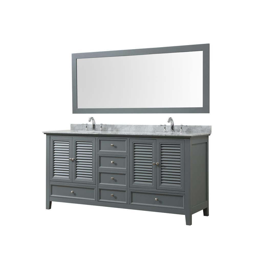 Direct Vanity Sink Shutter 72 In W