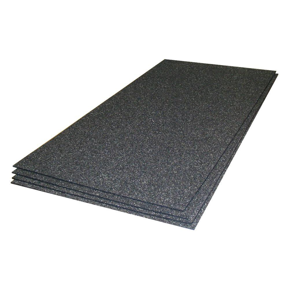 ThermoSoft Cerazorb 2 ft. x 48 in. x 3/16 in. Synthetic Cork Subfloor Insulation Sheets (4 sheets)