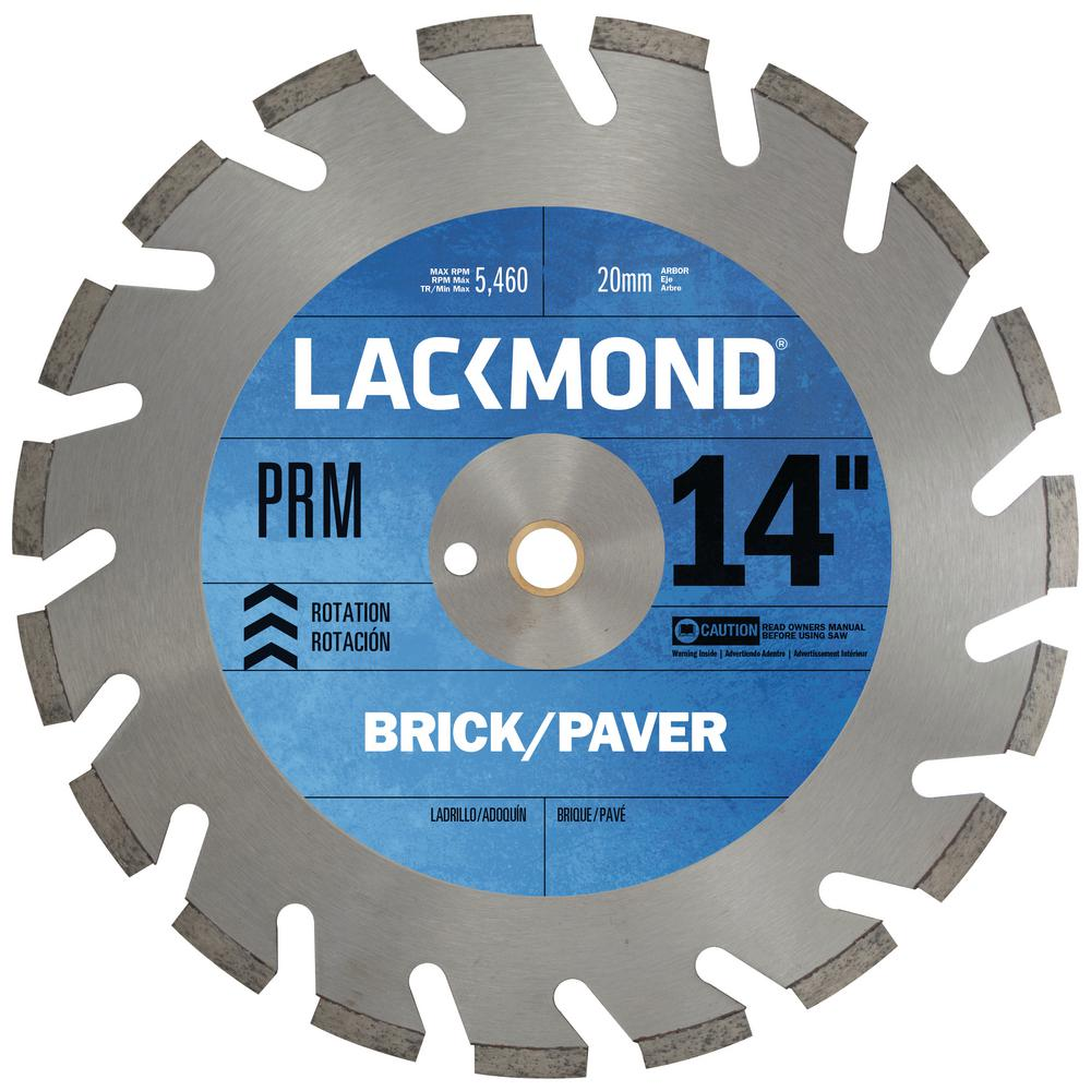 DCP-PRM Hard Materials Blade 14 in. x 0.125 in. - 20 mm Arbor