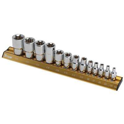 13-Piece E Star Socket Set