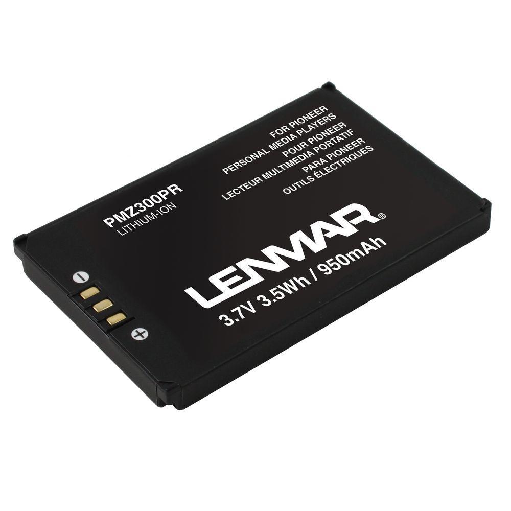 Lenmar Lithium Ion 950mAh/3.7-Volt MP3 Replacement Battery