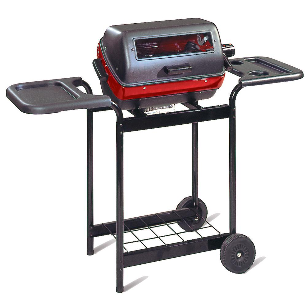 Deluxe Electric Cart Grill in Black