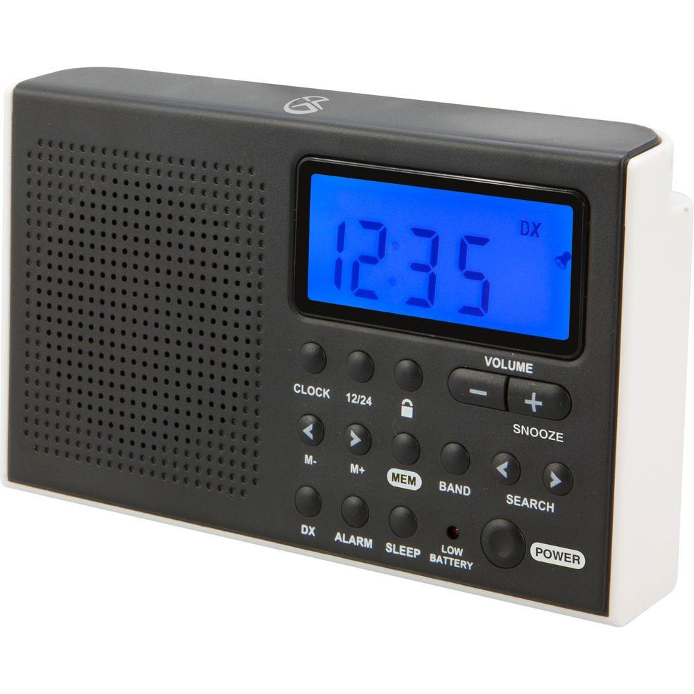 Gpx Portable Am Fm Short Wave Radio R616w The Home Depot