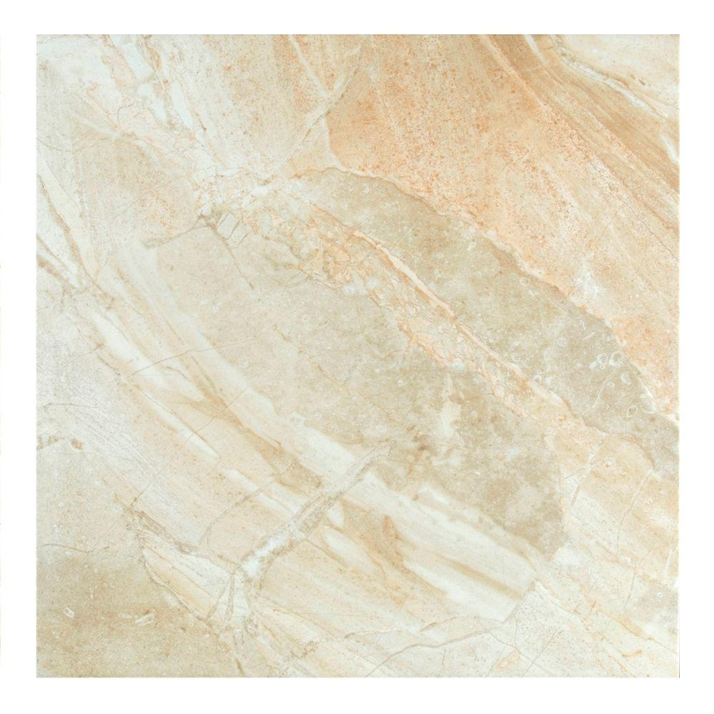 MONO SERRA Manhattan Sand 22.4 in. x 22.4 in. Stoneware Floor and Wall Tile (10.55 sq. ft. / case)