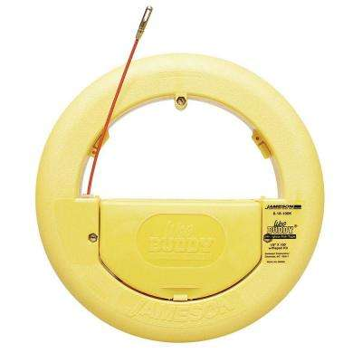 Wee Buddy 1/8 in. x 100 ft. Fiberglass Fish Tape Kit