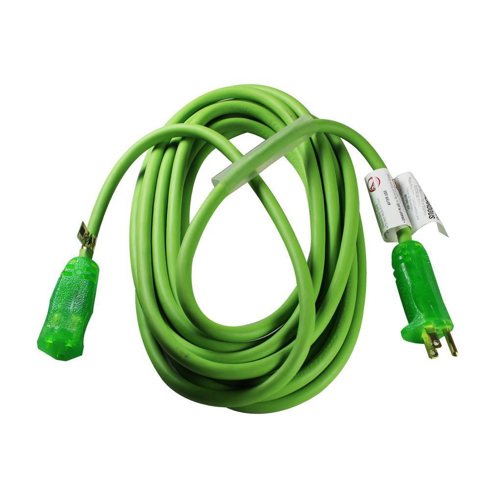 FrogHide Ultra Flex 25 ft. 12/3 SJOW Extension Cord