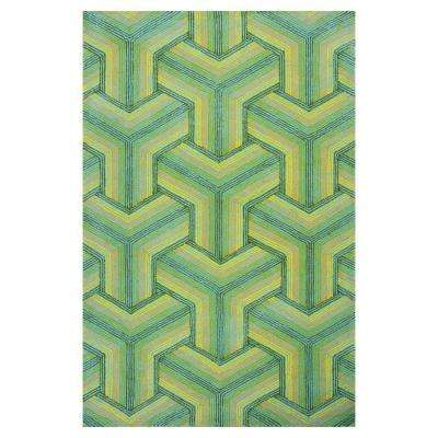 Ocean Connections 2 ft. x 3 ft. All-Weather Area Rug