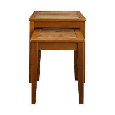 Lincoln Nesting End Tables with Concealed Compartment