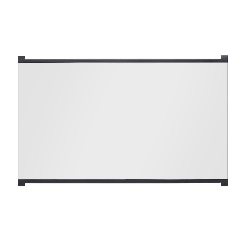 33 in. Tamper Proof Glass Doors for 33 in. Firebox Insert