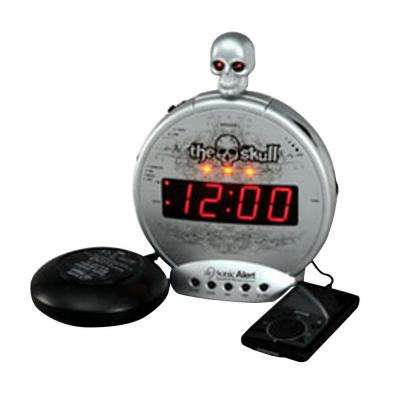 Skull Mp3/iPod Alarm with Shaker