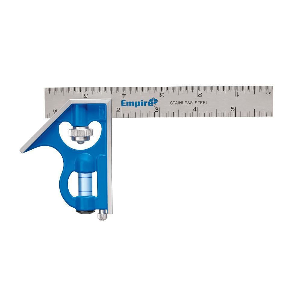 Empire 6 in. True Blue Blade Pocket Combination Square-E255 - The ...