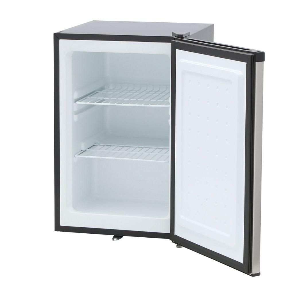SPT 21 Cu Ft Upright Freezer In Stainless Steel UF