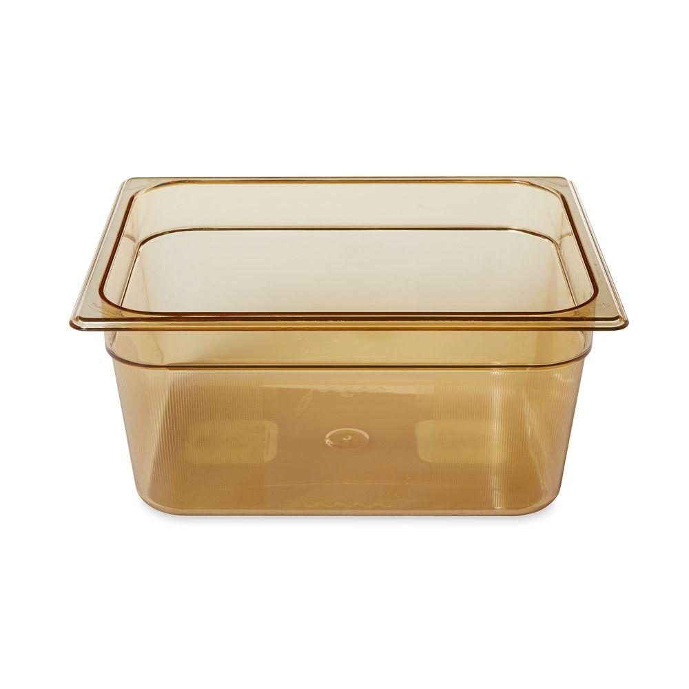 Rubbermaid Commercial Products 9-1/3 Qt. 1/2 Size Hot Food Pan