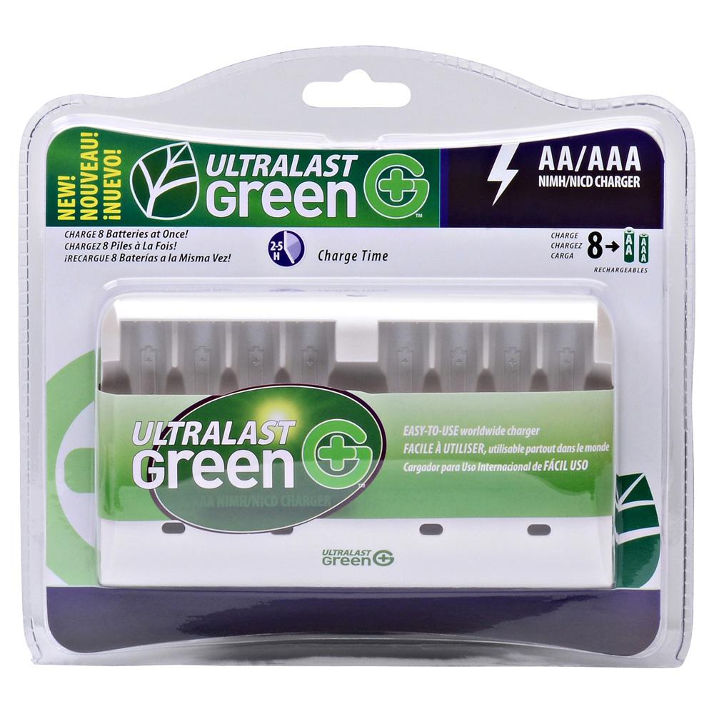 Ultralast green 8 slot charger tableau de mains poker