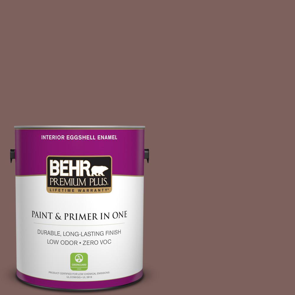 BEHR Premium Plus 1-gal. #N130-6 River Rocks Eggshell Enamel Interior Paint