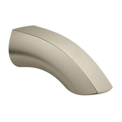 Eurosmart New Wall-Mounted Tub Spout in Brushed Nickel InfinityFinish