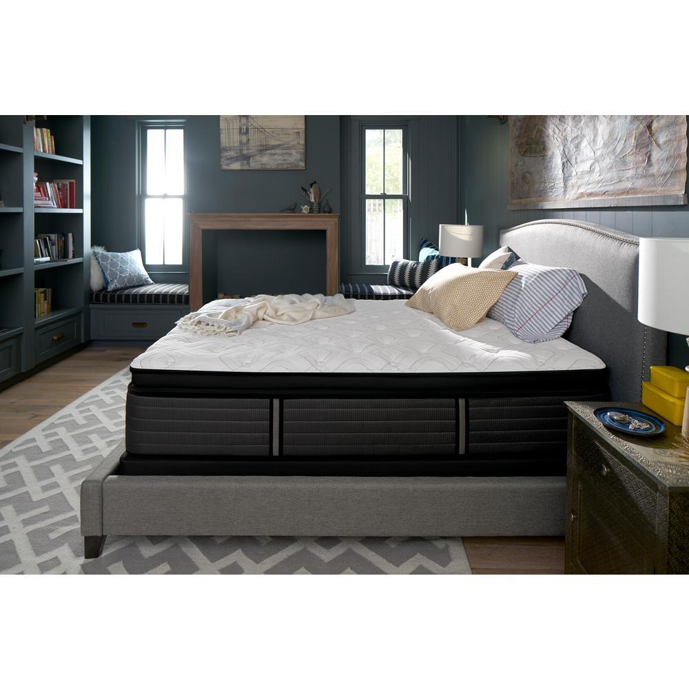 queen cushion firm euro pillow top mattress