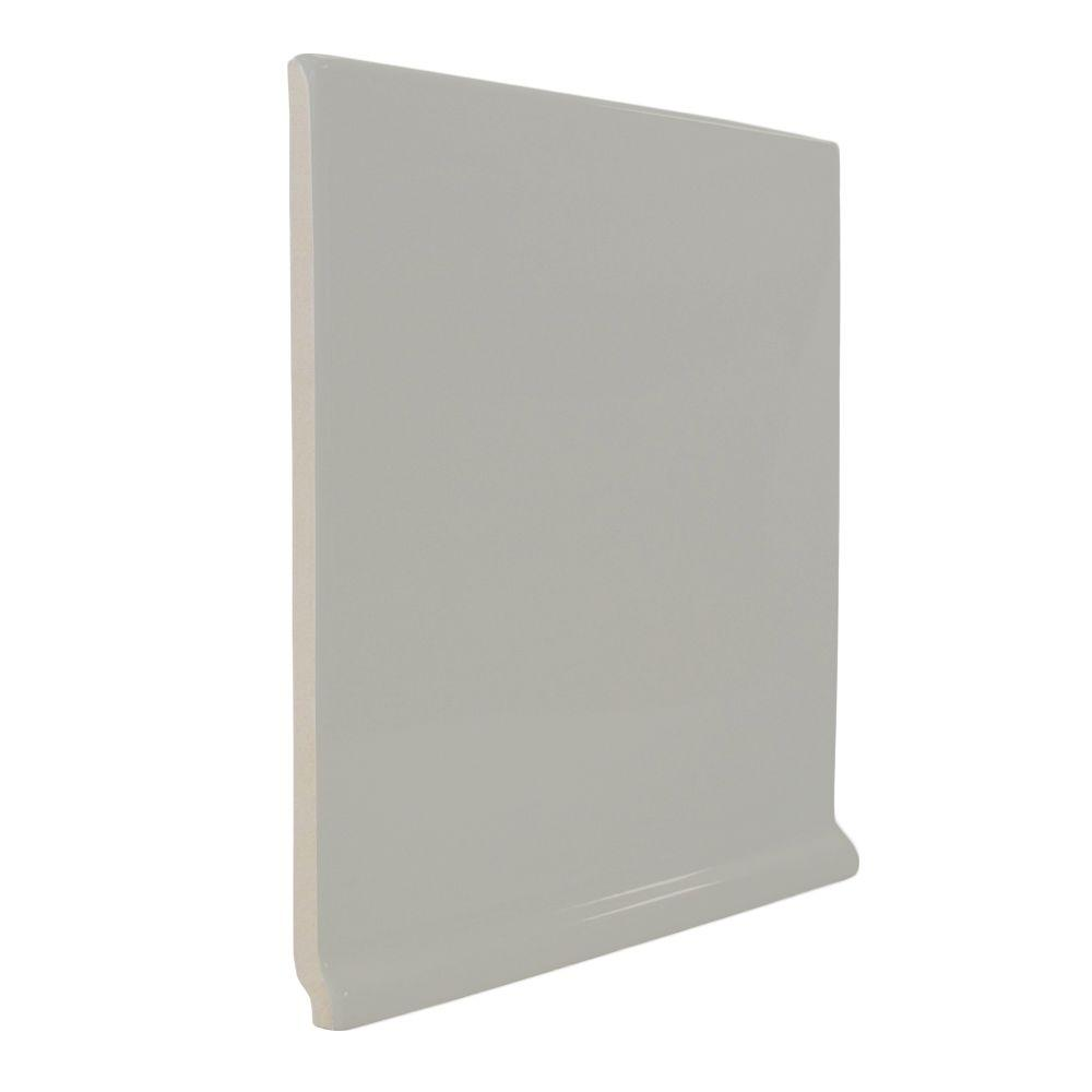U.S. Ceramic Tile Color Collection Bright Taupe 6 in. x 6 in. Ceramic Stackable Left Cove Base Corner Wall Tile-DISCONTINUED