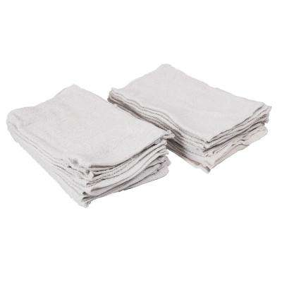 Cotton Terry Towels (20-Pack)