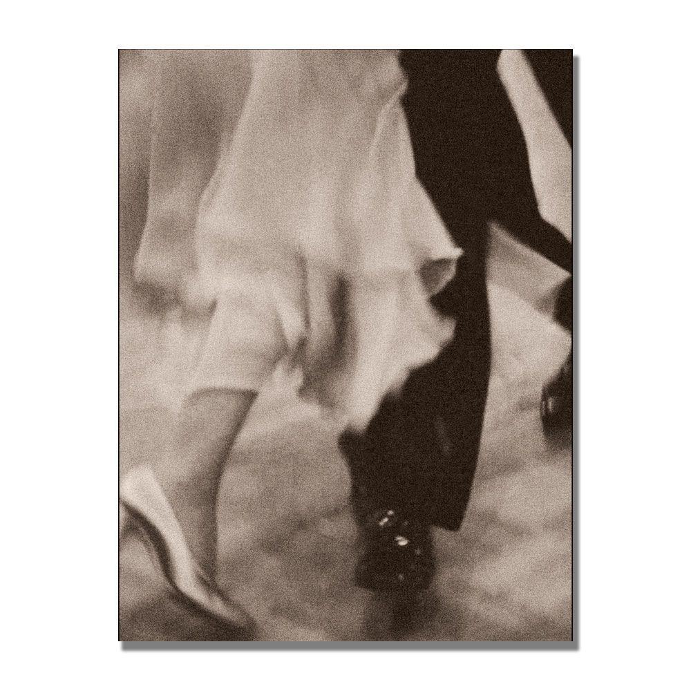 Trademark Fine Art 18 in. x 24 in. Legs Ballroom Dancing couple Canvas Art-DISCONTINUED