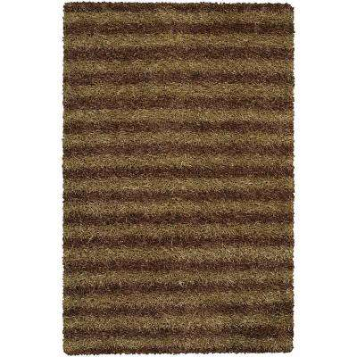 Zara Brown/Cream 9 ft. x 13 ft. Indoor Area Rug