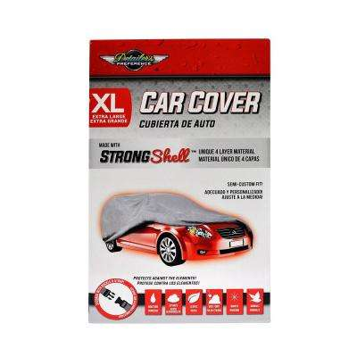 Strong Shell 215 in. L x 77 in. W x 51 in. H Car Cover - XL