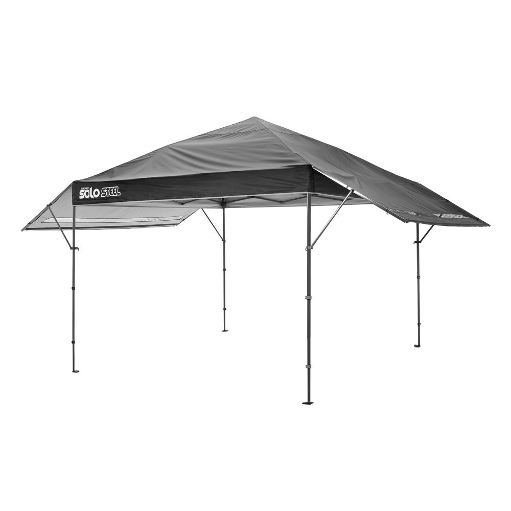 Black Straight Leg Pop-  sc 1 st  The Home Depot & 170 ft. x 10 ft. x 17 ft. Black Straight Leg Pop-Up Instant Canopy ...