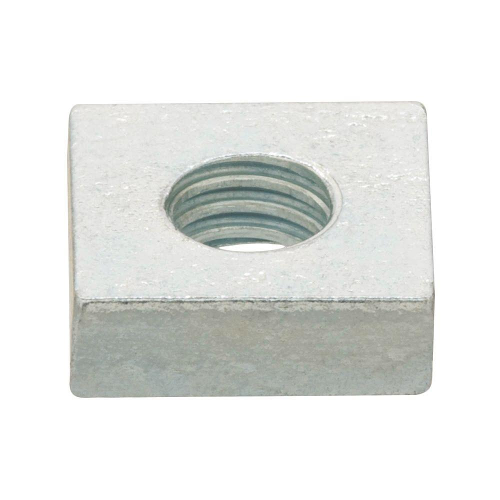 Everbilt #10-32 Zinc-Plated Fine Thread Square Nuts (5-Pieces)