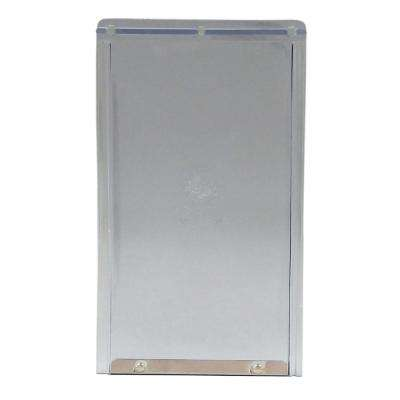 7 in. x 11.25 in. Medium Replacement Flap for Original and Aluminum Frames-New Style Has Rivets on Bottom Bar