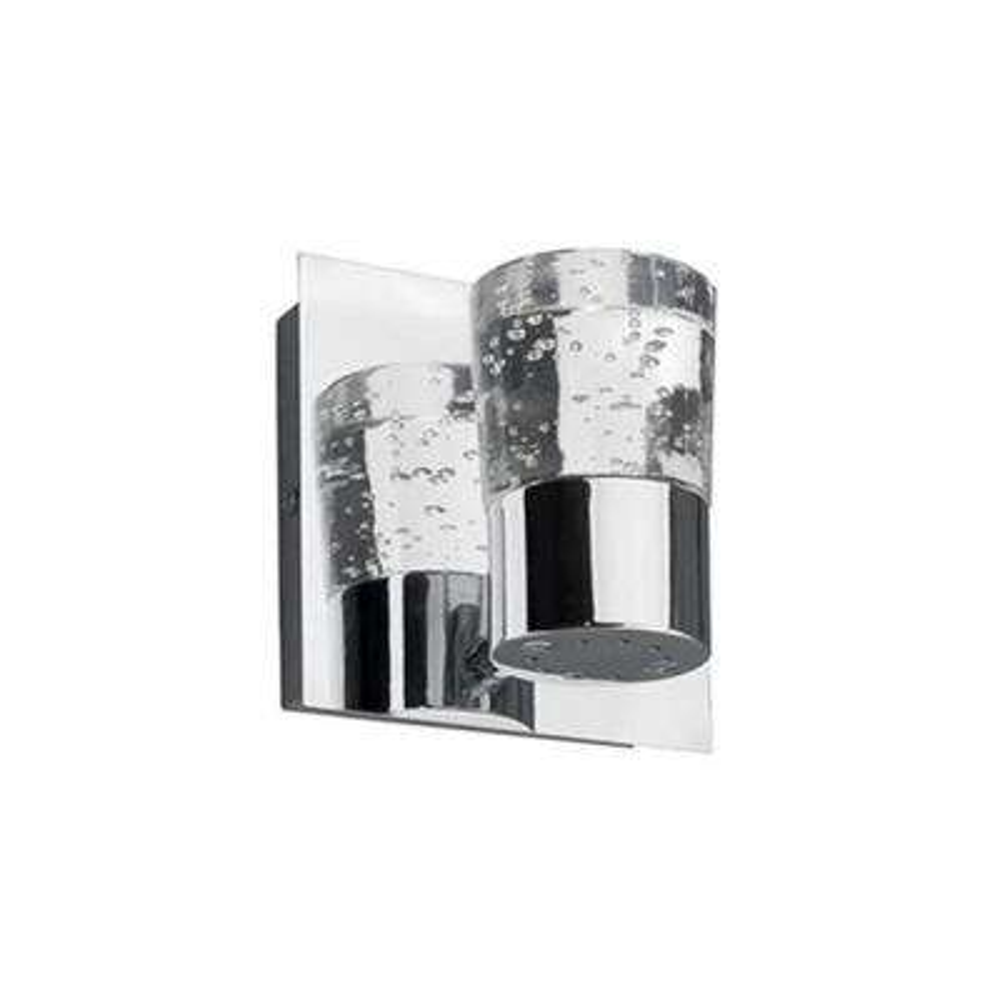 Yellin 1-Light Chrome 40-Watt Equivalence Integrated LED Bath Light