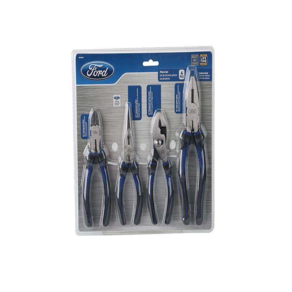 Ford Ford 8 in. Universal Plier Set (4-Piece)
