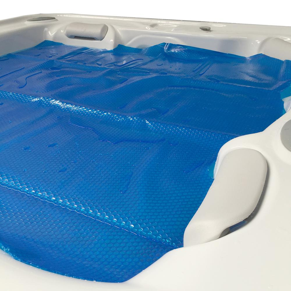 Swim Time 7 ft. x 8 ft. Solar Spa and Hot Tub Blanket