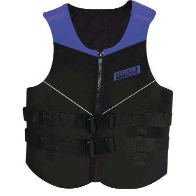 Large Multi-Sport Life Vest, Blue