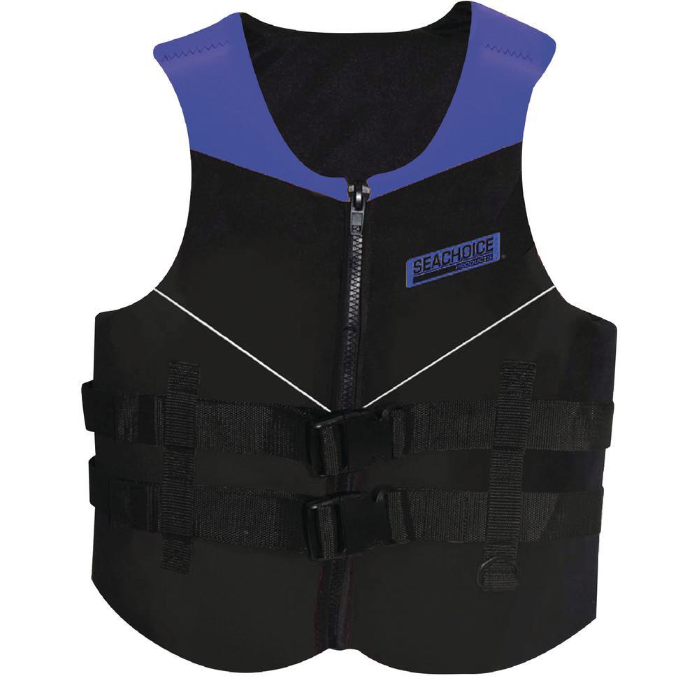 Adult 2X-Large Multi-Sport Life Vest, Blue