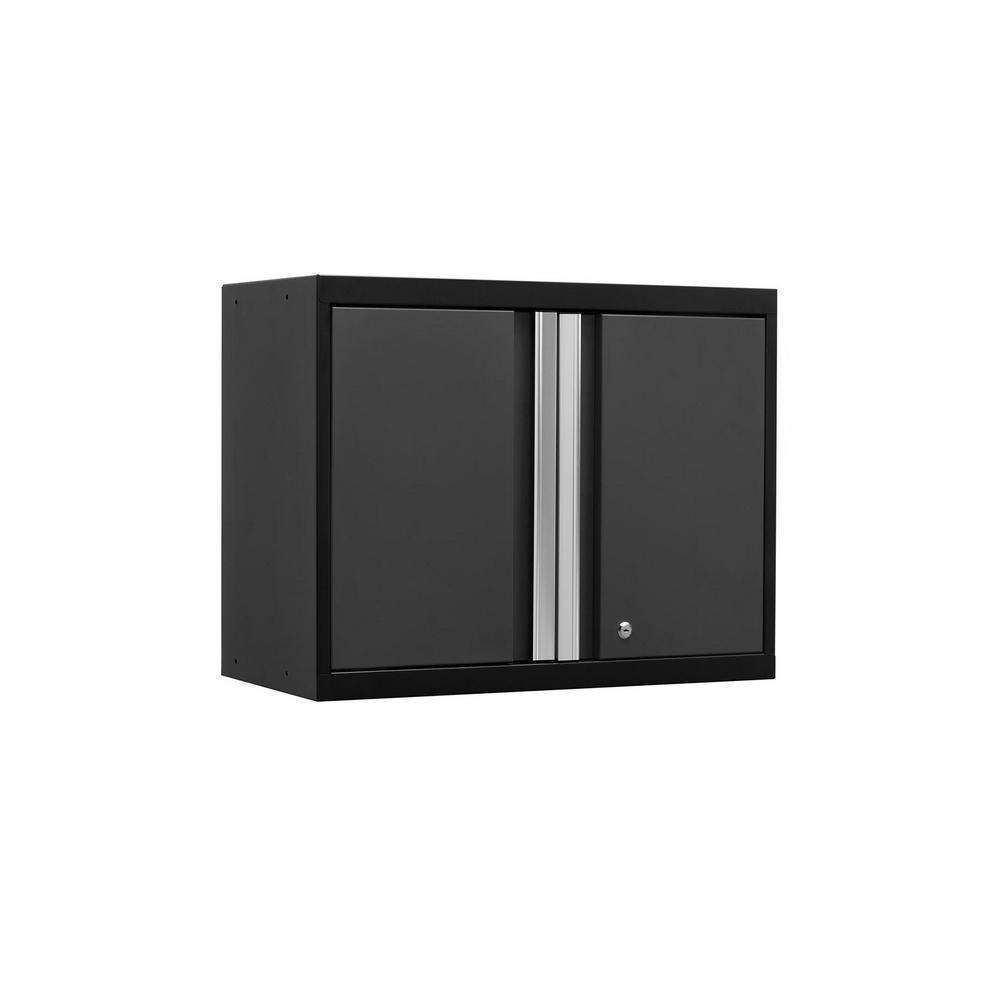 NewAge Products Pro 3.0 Series 28 in. W x 22 in. H x 14 in. D 18-Gauge Welded Steel Wall Cabinet in Gray