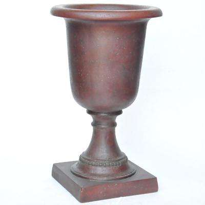 29 in. H. Patina Green Cast Stone Large Italian Urn