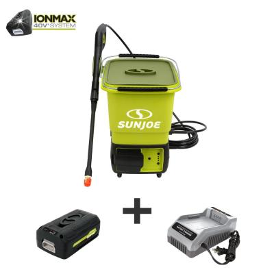 iON 40-Volt 5.0 Ah 1160 psi Cordless Pressure Washer