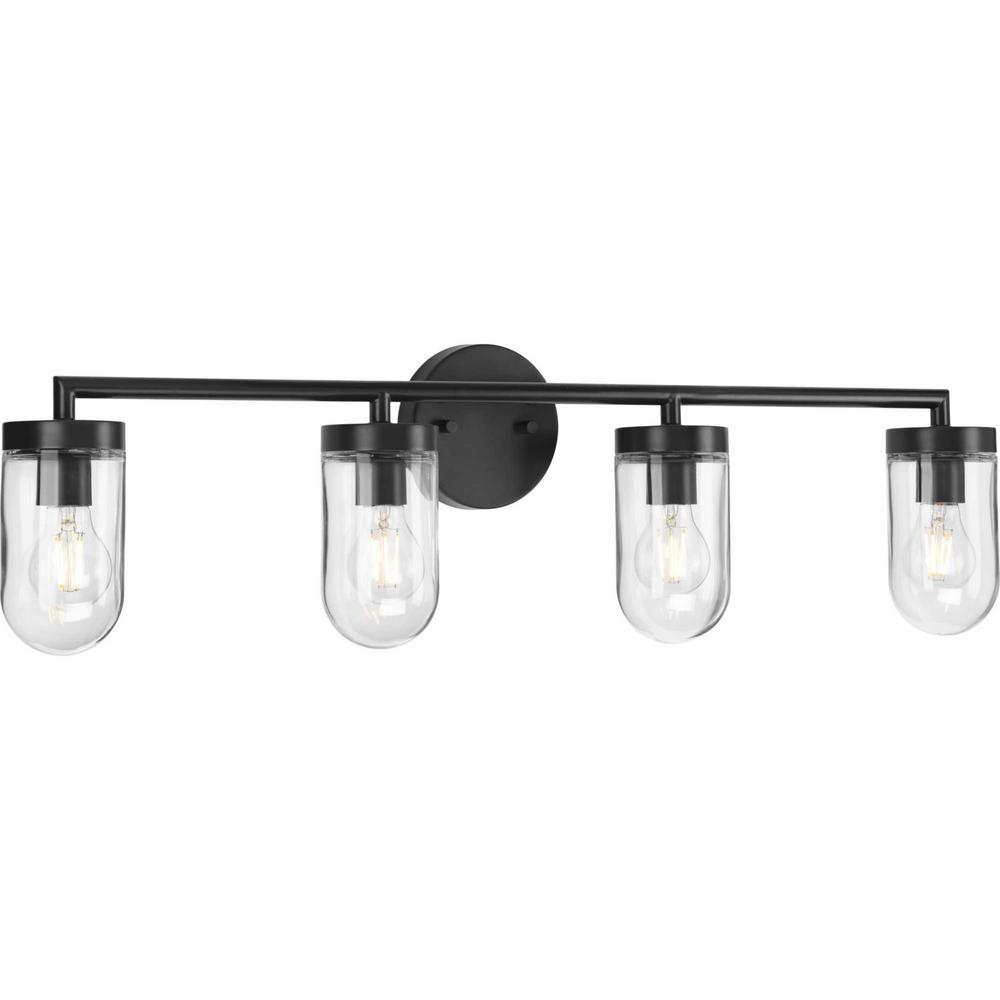 Signal 4-Light Graphite Bath Light