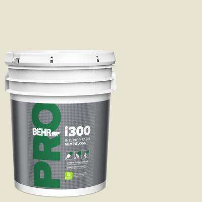 5 gal. #73 Off White Semi-Gloss Interior Paint