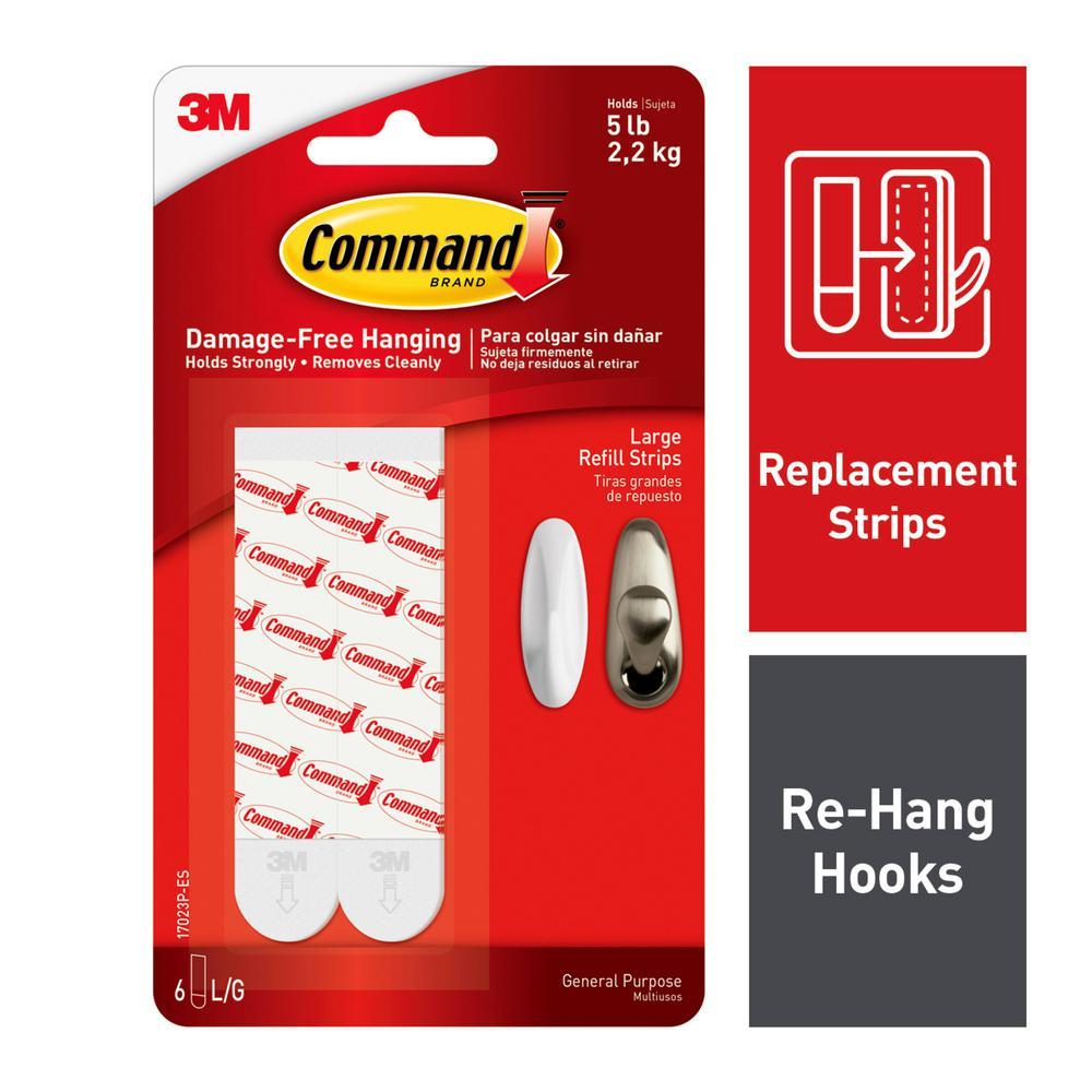 5 lb. Large Refill Strips (6-Strips)