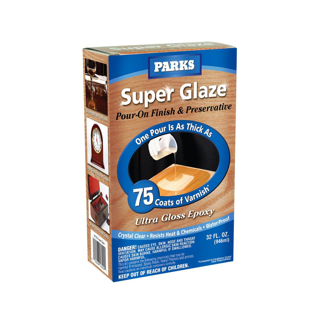 Rust Oleum Parks 1 Qt Gloss Super Glaze Finish And