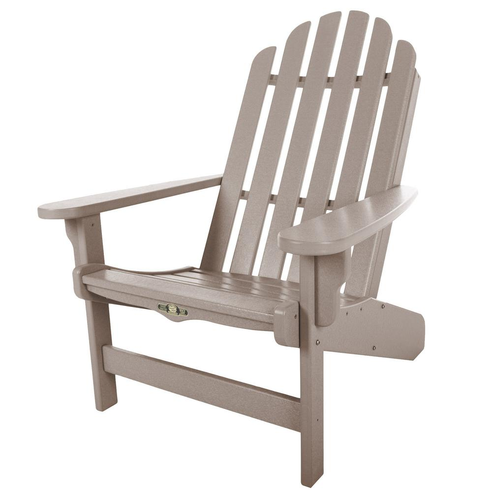 Genial Pawleys Island Durawood Essentials Adirondack Chair In Weatherwood