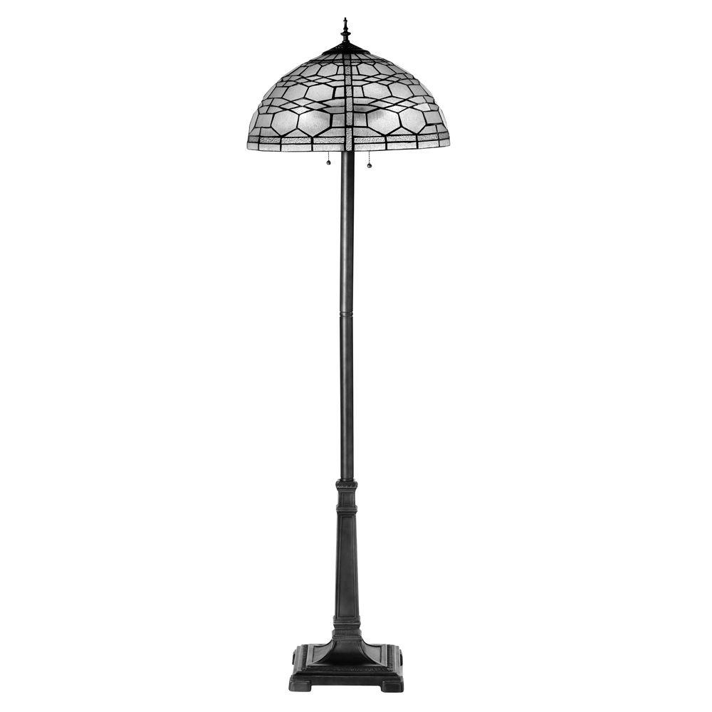 Home Decorators Collection Haverford 60 in. Clear Floor Lamp