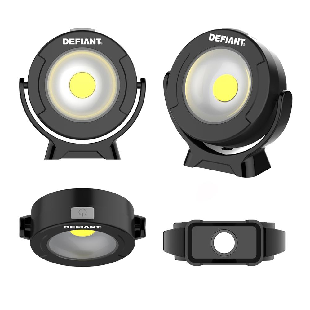 Defiant 360 Degree Pivoting LED Light (2-Pack)